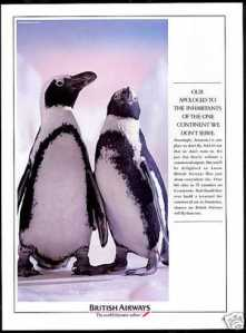 British Airways Penguins