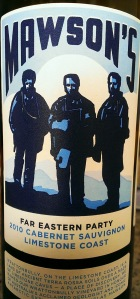 Mawson's Cabernet Sauvignon 2010