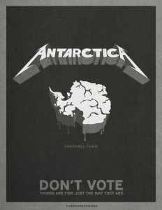 dont vote Antarctica