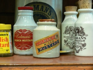 Mustard Shop and Museum Artifacts